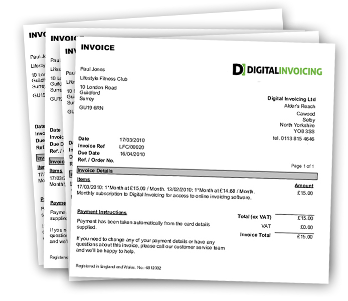 Lovely Recurring Invoices Regarding Digital Invoices
